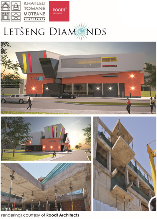 Letseng diamonds new head office, Maseru Lesotho